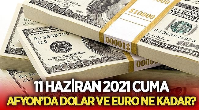 11 Haziran 2021 Cuma Afyon'da dolar ve Euro ne kadar?
