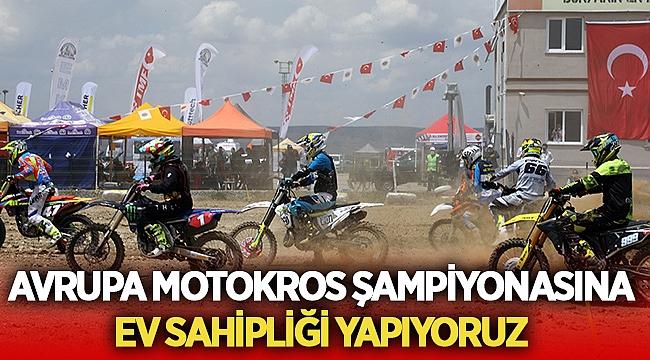 Afyon Avrupa Motokros Şampiyonasına ev sahipliği yapıyor