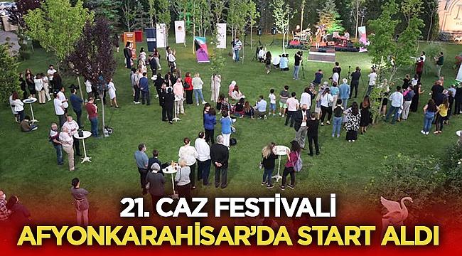 Afyonkarahisar Caz Festivali törenle başladı
