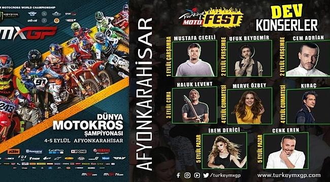 Dünya Motokros Şampiyonasında Afyona yıldız yağacak