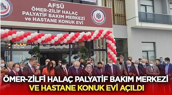 Ömer-Zilfi HALAÇ hastane konuk evi açıldı