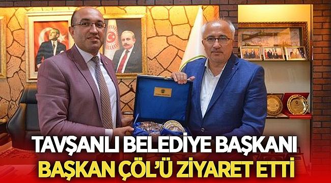 Tavşanlı Belediye Başkanı Mustafa Güler'den Çöl'e ziyaret