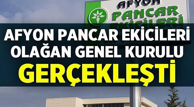 Afyon Pancar Ekicileri Kooperatifi'nde büyük oy farkı!
