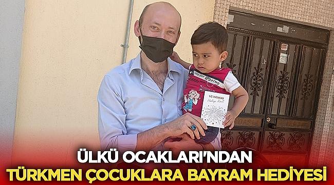Afyon Ülkü Ocakları'ndan Türkmen çocuklara bayram hediyesi