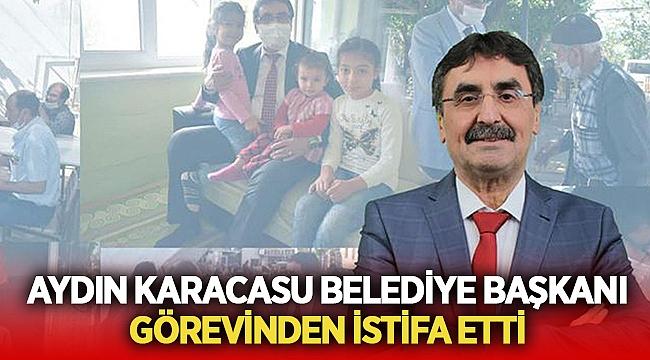 Aydın Karacasu Belediye Başkanı Zeki İnal istifa etti