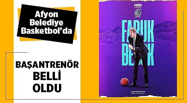 Faruk Beşok, Afyon Belediyespor'un başantrenörü oldu