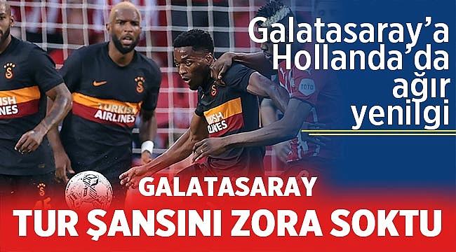 Galatasaray, PSV'ye diş geçiremedi. Maç sonucu: 5-1