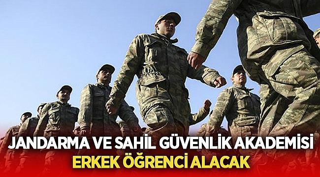 Jandarma erkek öğrenci alacak!