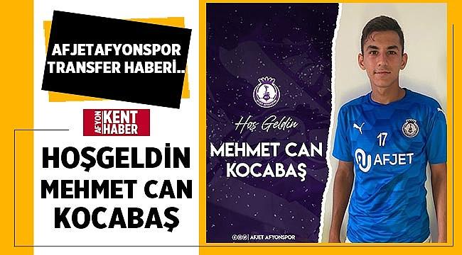 Mehmet Can Kocabaş Afjet Afyonspor'a transfer oldu