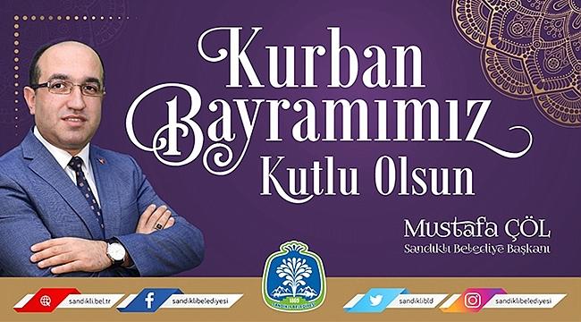 Mustafa Çöl, Kurban Bayramını kutladı