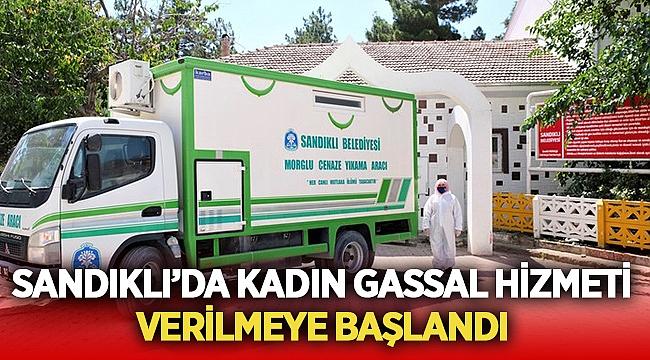 Sandıklı'da Kadın Gassal Hizmeti verilmeye başlandı