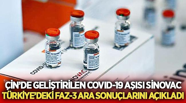 Sinovac aşısı Türkiye'de ne kadar etkili oldu