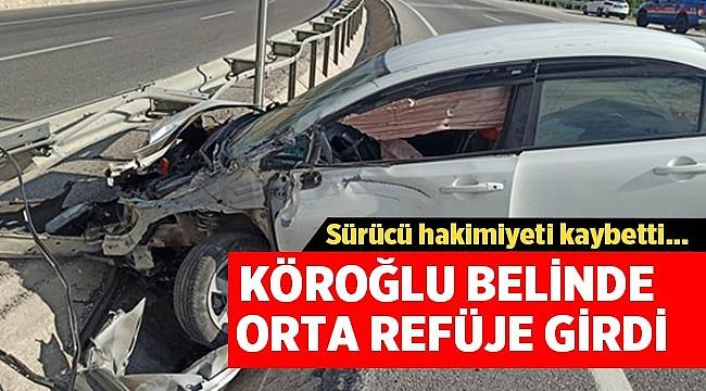 Son Dakika: Afyon Köroğlu Belinde Trafik Kazası!