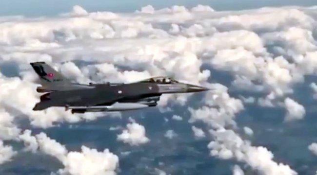 Türk F-16'lar Baltık Denizi bölgesinde