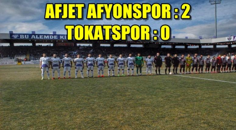 Afjet Afyonspor 2 - 0 Tokatspor
