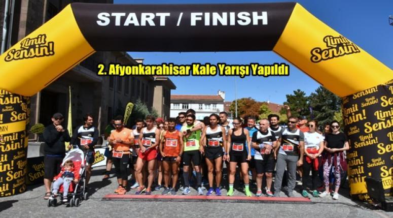 Afyon Kale Yarışı'na ikinci kez ev sahipliği yaptı