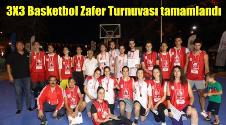 Afyon 3X3 Basketbol Zafer Turnuvası tamamlandı