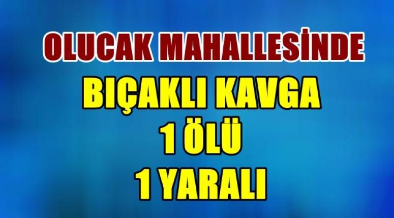 AFYON'DA BIÇAKLI KAVGA !! 1 ÖLÜ !! 1 YARALI !!!