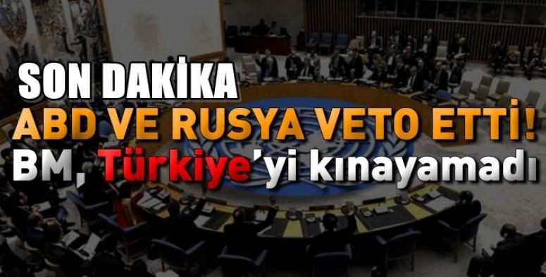BMGK'da Türkiye'ye kınama oylaması !!