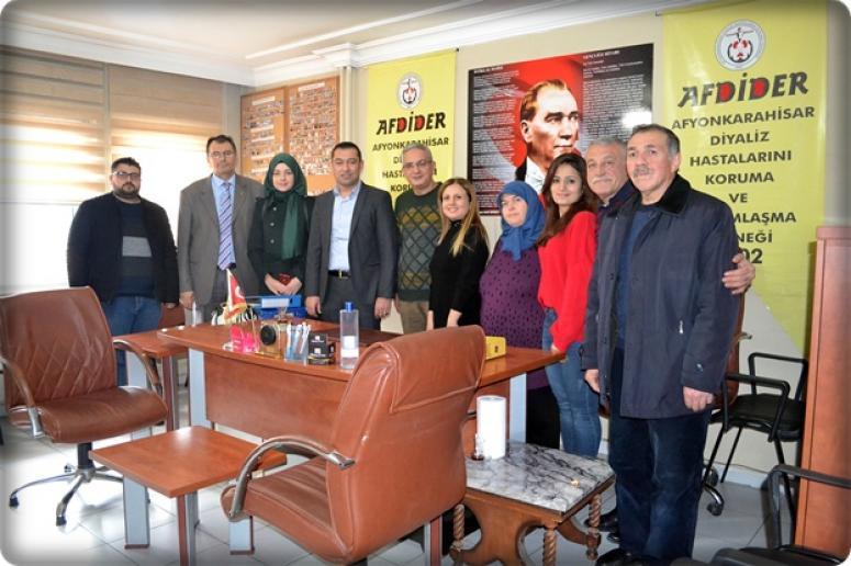AK Parti Merkez ilçeden STK ve kurumlara ziyaret
