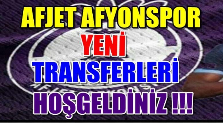 Afjet Afyonspor Son Transferleri !!!