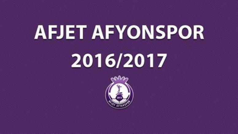 Afjet Afyonspor'da Parola :2.Lig