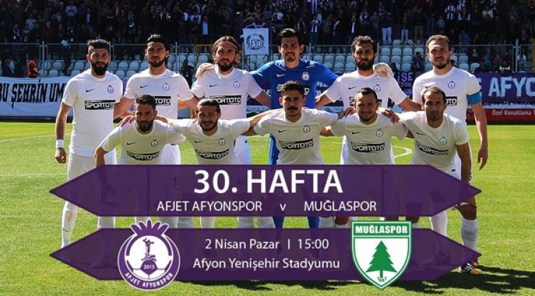 Afjet Afyonspor - Muğlaspor karşılaşması