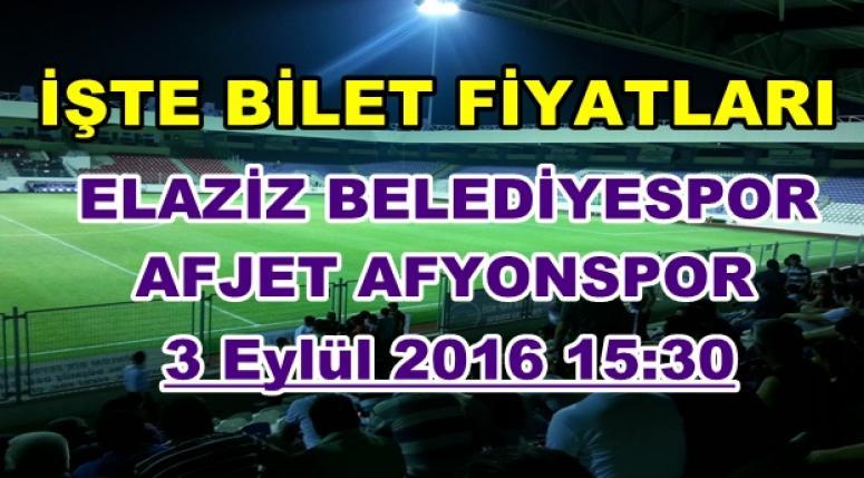 AFJET AFYONSPOR 2016-2017 SEZONU KOMBİNE BİLET FİYATLARI