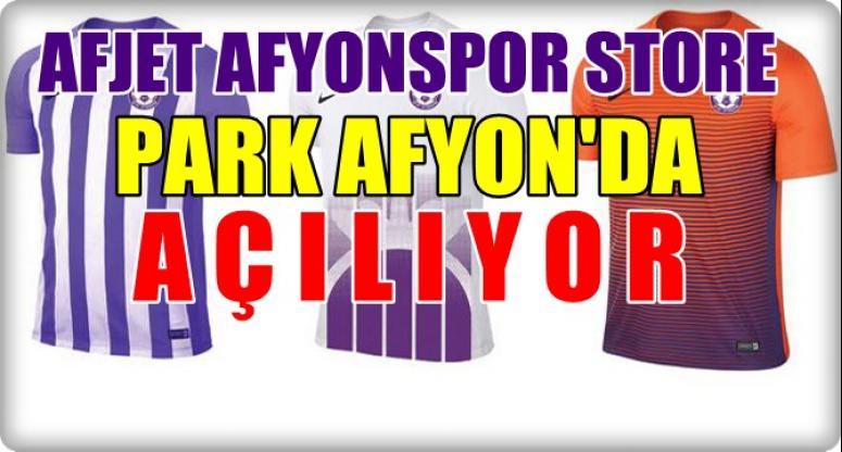 Afjet Afyonspor Store Park Afyon'da açılıyor !!!