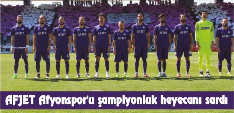 AFJET AFYONSPOR 2.LİG İÇİN SON MAÇINA ÇIKIYOR !!!
