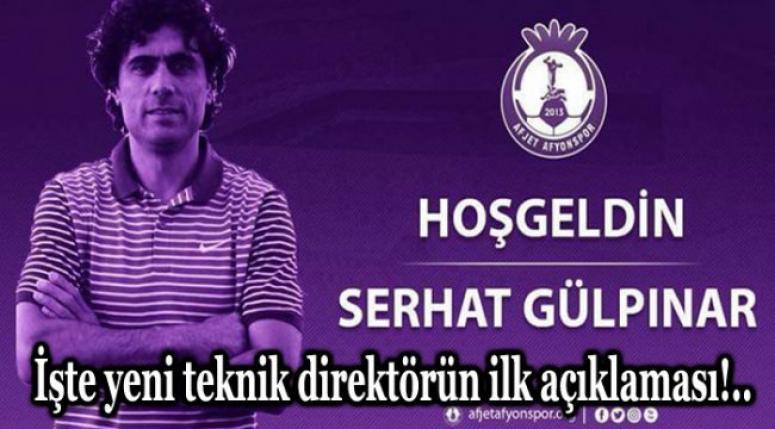 AFJET AFYONSPOR'A YENİ TEKNİK DİREKTÖR !!!