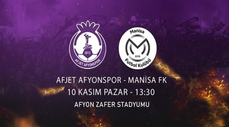 Afjet Afyonspor - Manisa SK [ Maç Günü ]