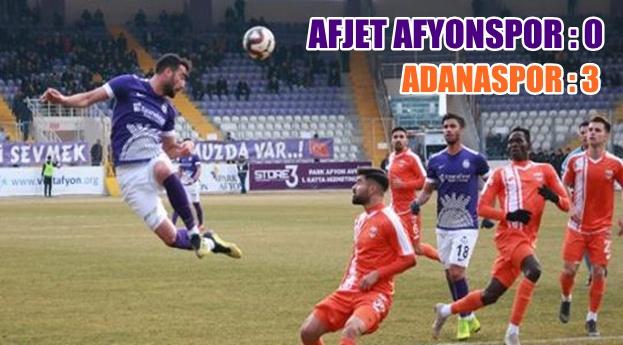 AFYON TARAFTARI ÜZGÜN !!! 0 – 3
