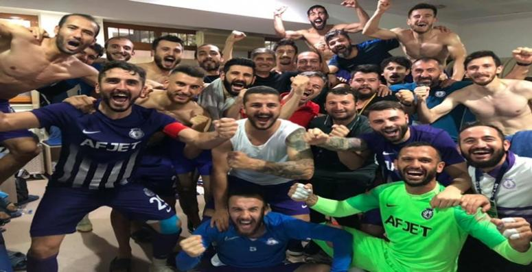 Afjet deplasmanda güldü !! Tarsus İdman Yurdu : 0 - 2 Afjet Afyonspor