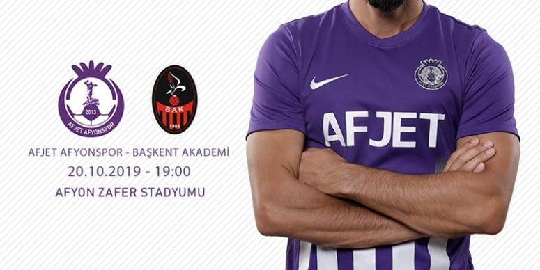 Afjet Afyonspor - Başkent Akademi maçı ne zaman, hangi kanalda !!