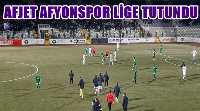 Afjet Afyonspor Lig'e tutundu !!