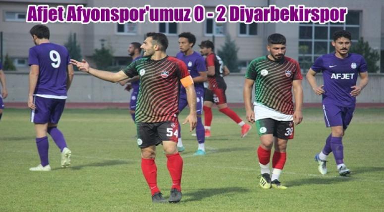 Afjet Afyonspor 0 - 2 Diyarbekirspor [ Hazırlık Karşılaşması ]