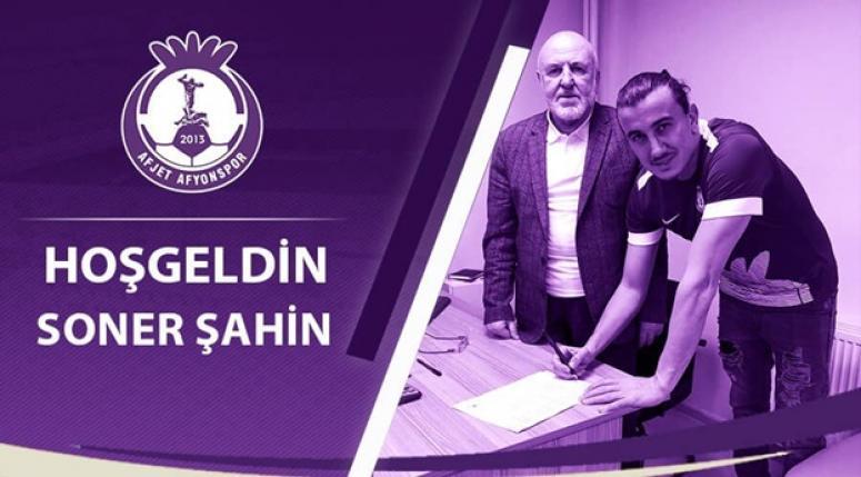 Başarılı kaleci Soner Şahin Afjet Afyonspor'da