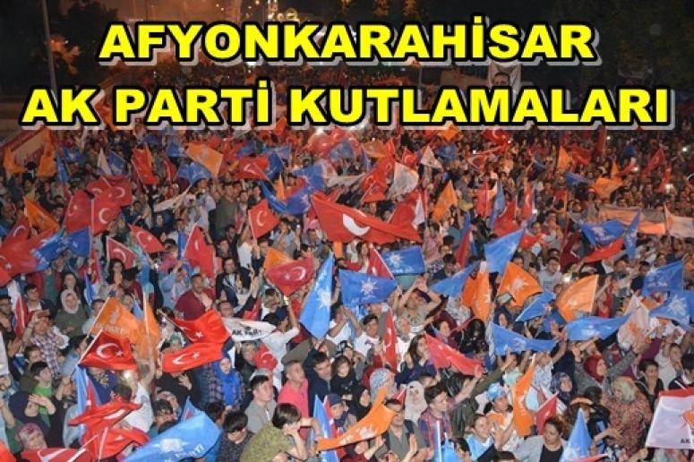 Afyon AK Parti Seçim Kutlamaları