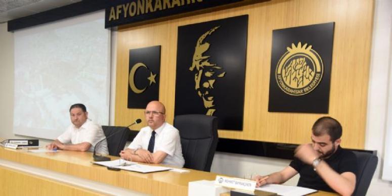 AFYONKARAHİSAR BELEDİYE MECLİSİ TOPLANDI