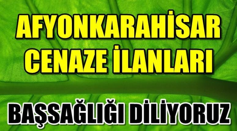 AFYONKARAHİSAR CENAZE DUYURULARI !!