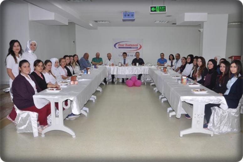 Afyon Fuar Hastanesi 21-28 Nisan Ebeler Haftası Basın Açıklaması