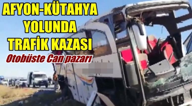 Afyon-Kütahya yolunda Trafik Kazası !!