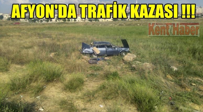 Afyon'da Trafik Kazası !!!