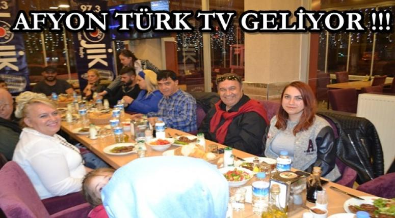 Afyon Türk Tv geliyor !!! Ekip toplandı !!