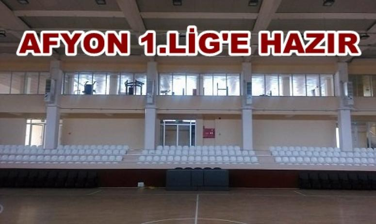 Afyon Voleybol Takımımız 1.Lig'e Hazır !!!