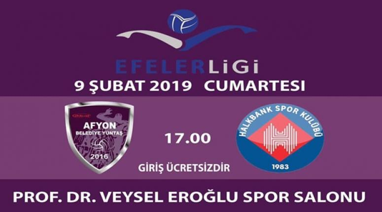 Afyon Voleybol takımımız Halkbank ile karşılaşacak !!
