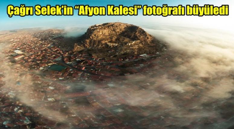 """Çağrı Selek'in """"Afyon Kalesi"""" fotoğrafı büyüledi"""