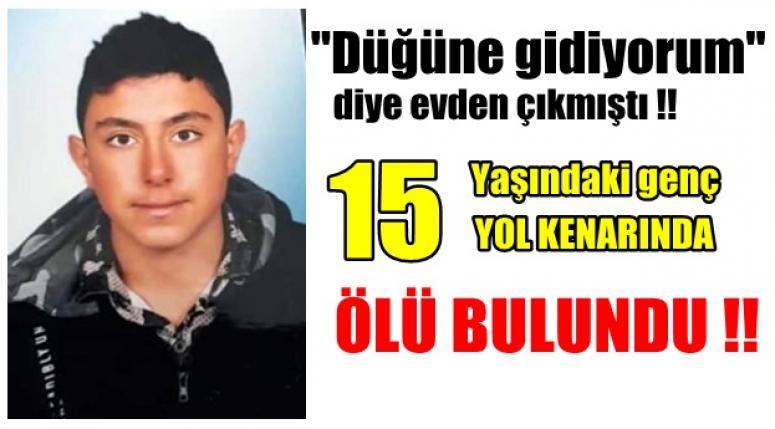 Afyonhaber - Afyon'lu genç yol kenarında ölü bulundu !!