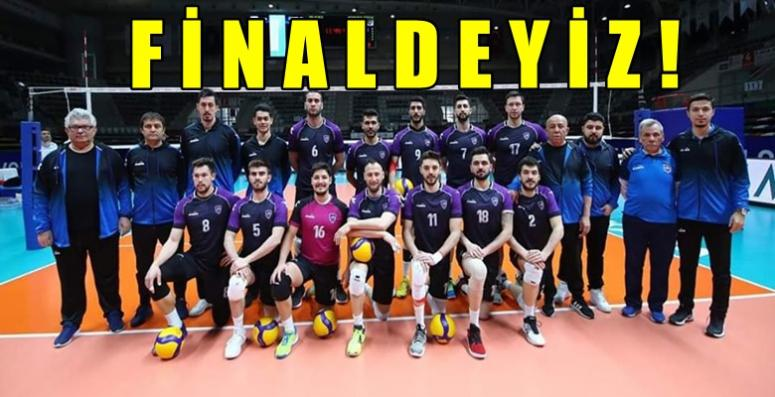 Afyon Voleybol Takımımız Finale adını yazdırdı !!